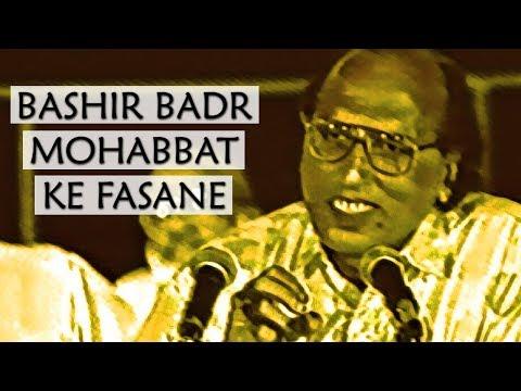 Bashir Badr - Mohabbat Ke Fasane | Ghazal Sara | Mehran Amrohi | 4K Ultra HD | Urdu Shayari