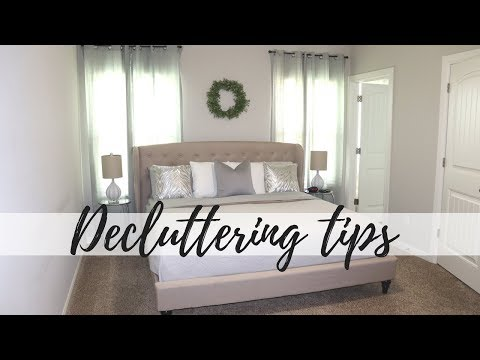 6 TIPS FOR DECLUTTERING | HOW TO DECLUTTER | CLUTTER FREE HOME