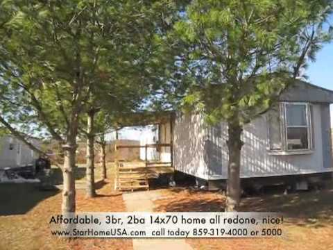 all redone, nice! seller will finance  Low down, Easy monthly, Danville, KY  Affordable Mobile home