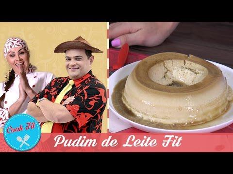 PUDIM DE LEITE FIT | Cook Fit | Matheus Ceará E Dani Iafelix