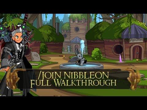 AQW /join nibbleon Full Walkthrough | All new quests