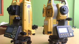 Total Station Topcon GM 100 Series (GM 101, GM 103, GM 105)