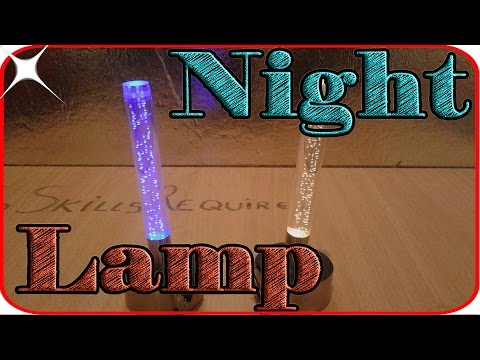 How to make cool night light watter effect .Poundland unethical life hacks!diy room decor