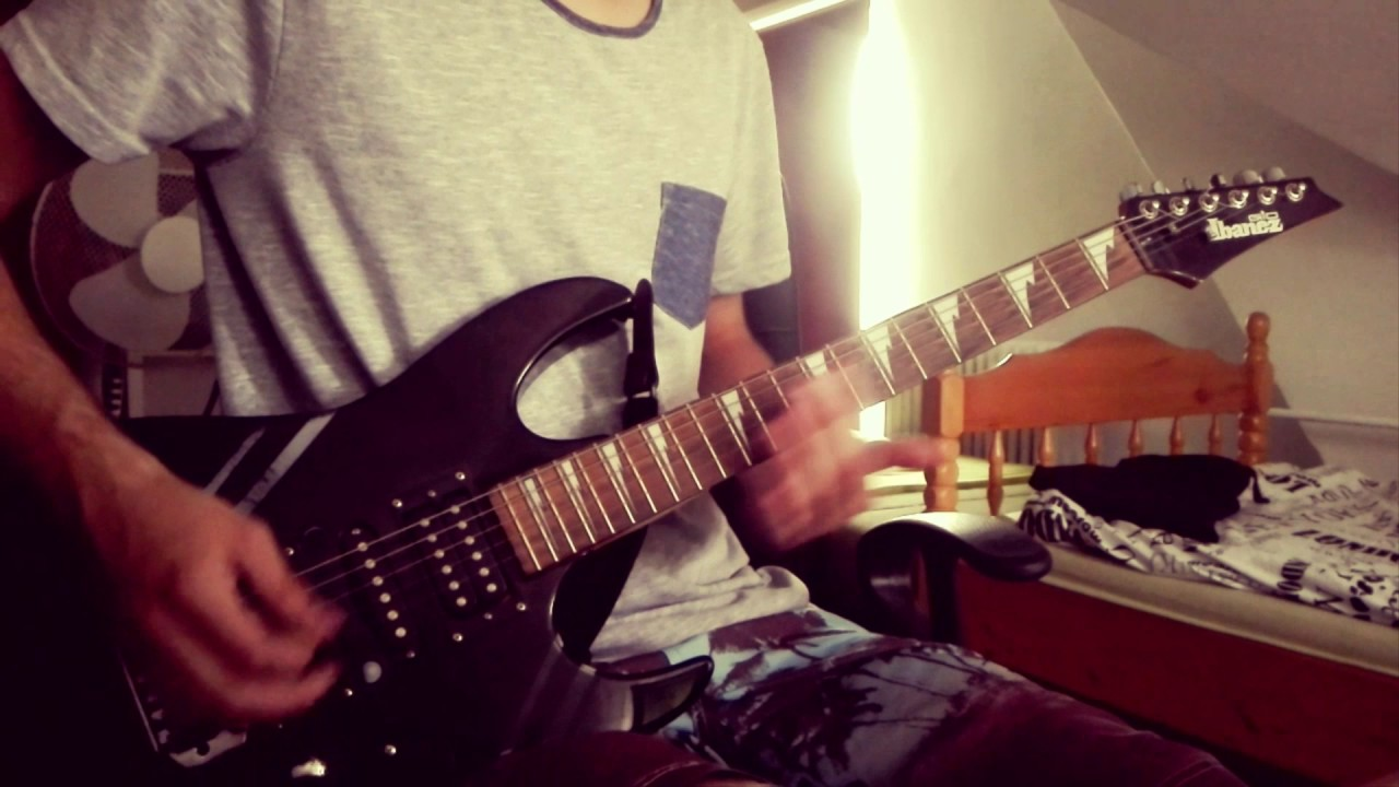 Papa Roach My Medication Guitar Cover Youtube