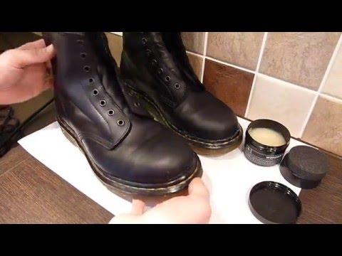 30c1b3449debc DR MARTENS - Waterproofing & Wonder Balsam (1460, For Life) - YouTube