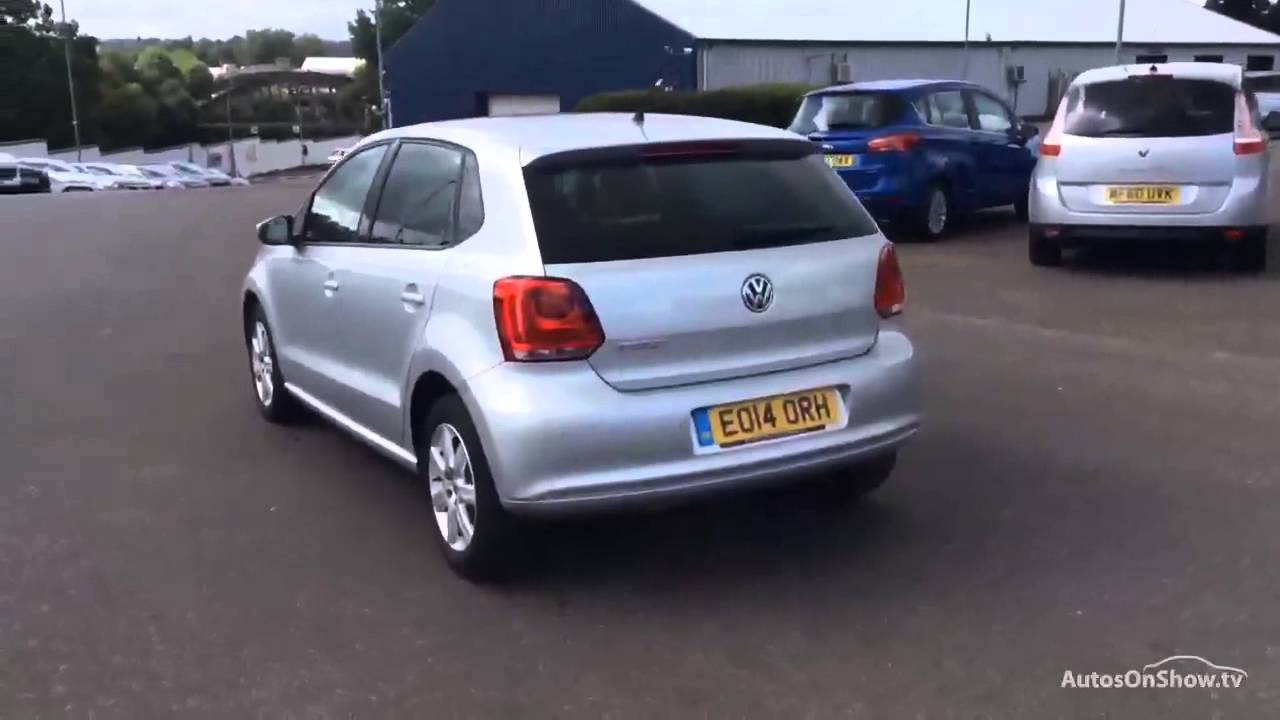 Vw Lookers >> VOLKSWAGEN POLO MATCH EDITION ALUMINIUM/SILVER 2014 - YouTube