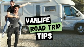 5 must know TRAVEL TIPS | European van life road trip ep.22
