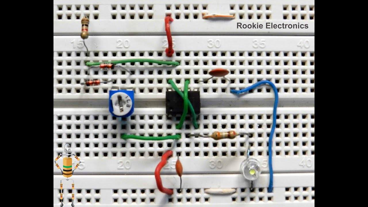 Circuit Works Diagram Of Auto Intensity Control Led Lights Brightness Controller Youtube