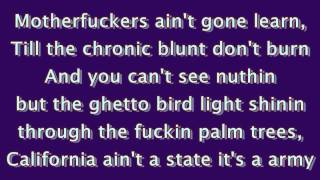 State Of Emergency - The Game Feat. Ice Cube (Lyrics On Screen) (FULL 1080p HD)