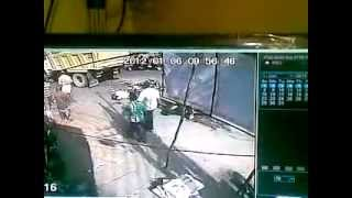 bruitel an accident in trivandrum.mp4