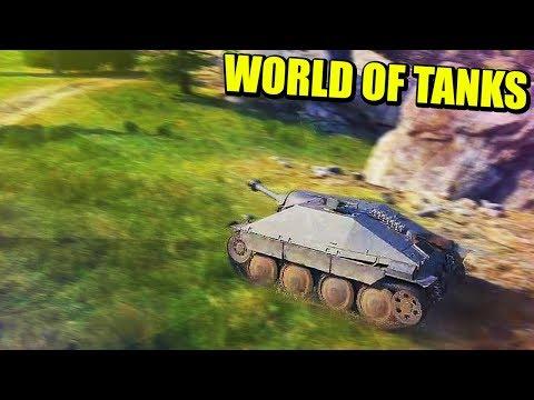 SUPER ATAQUE CON EL TANQUE HETZER (T4) - WORLD OF TANKS | Gameplay Español thumbnail