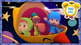 🚀 POCOYO in ENGLISH - TO INFINITY AND BEYOND [100 min] |Full Episodes | VIDEOS and CARTOONS for KIDS