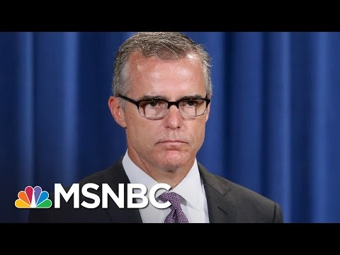 New FBI Director Andrew McCabe Compromised By Serious Conflict | Rachel Maddow | MSNBC