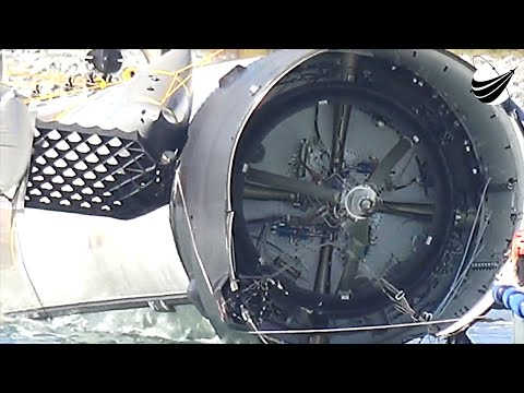 SpaceX CRS-16 Booster Towed To Port  12-07-2018