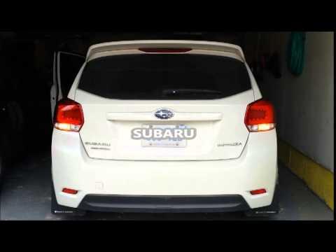 Jdm Colin Subaru Impreza Xv Crosstrek Tail Light Red Lens Chrome Interior Day Lights Only Youtube