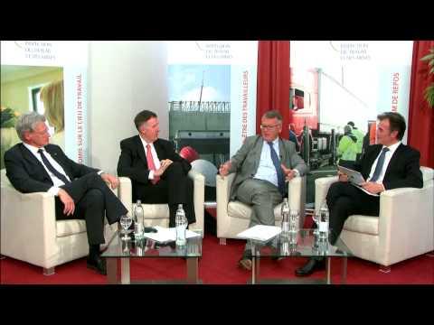 Nicolas Schmit Ministre du Travail, de l'emploi et de l'immigration du Luxembourg justifie eGlob.Tv
