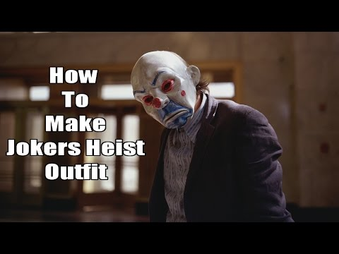 GTA Online: How To Make The Joker Heist Outfit (Dark Knight)