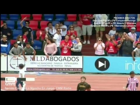 DIRECTO: UD LANZAROTE - CP VILLARROBLEDO. PlayOff a 2ªB. Castilla - La Mancha Media