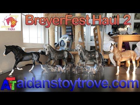BreyerFest Special Run Model Horses - Suitcase Number 2