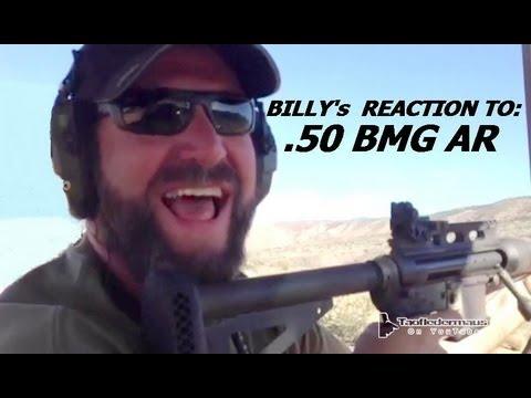 50 BMG AR-15 - KICKS LIKE A MULE!