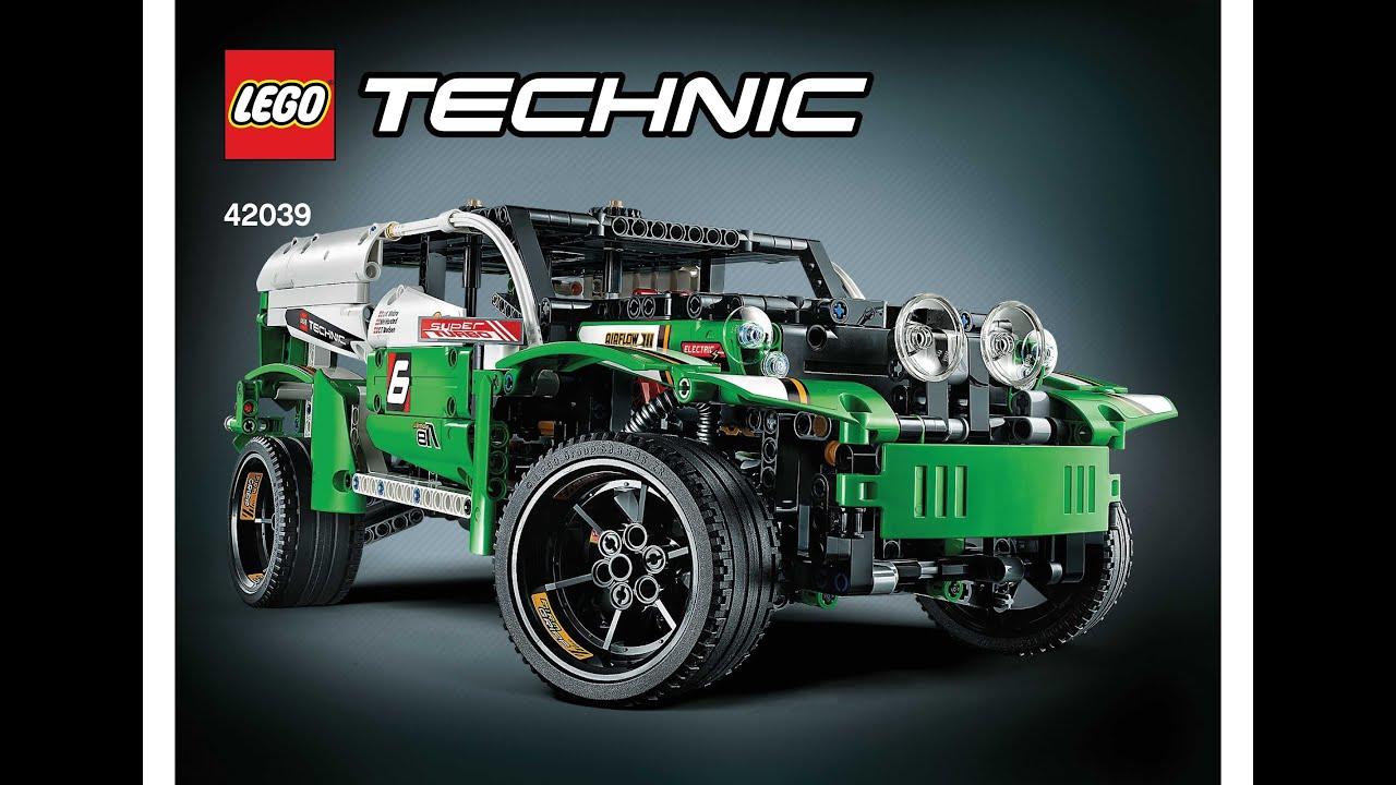 Lego 42039 Suv Racer Instructions B Model Lego Technic 2015 Youtube