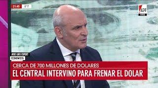 """📡 José Luis Espert en """"El noticiero A24"""", de Feinmann - 12/06/2018"""