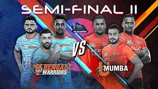 Pro Kabaddi 2019 Semi-Final Highlights | U Mumba vs Bengal Warriors