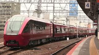 近鉄80000系ひのとり 名古屋線での試運転光景