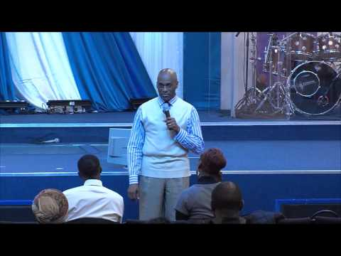 Wisdom for Wealth - Pastor Albert preaching at Glory House