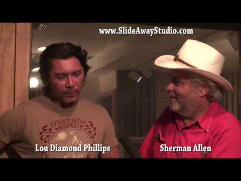 Lou Diamond Phillips / Sherman Allen - Bugs Henderson Interview @ SlideAway Studio