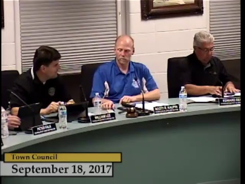 Enfield, CT - Town Council - September 18, 2017