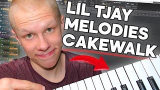 Making Lil TJAY Melodies in Cakewalk by Bandlab