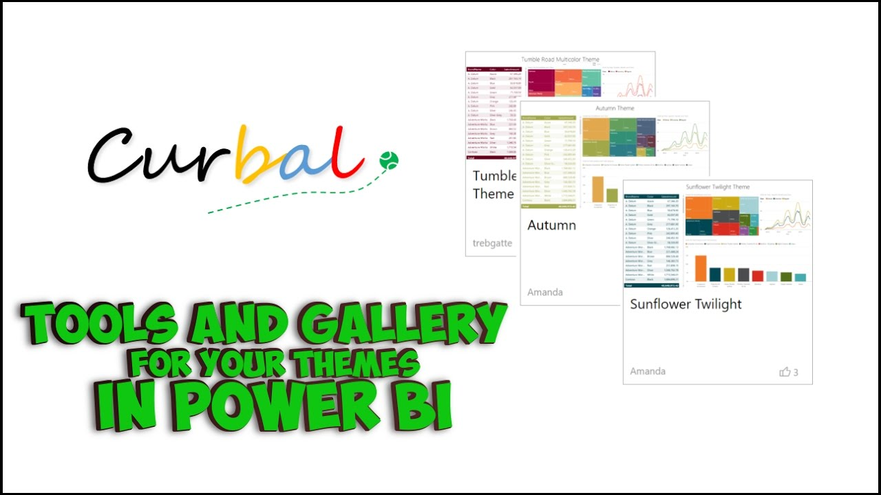 #35 Report Theme Gallery and Json Tools - Power BI Tips & Tricks