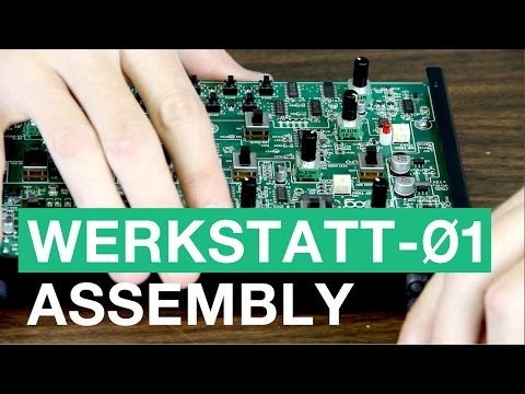 Moog Werkstatt-01 Synthesizer Assembly