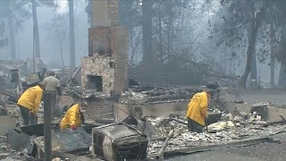 Number of people missing in California wildfires spikes to more than 600