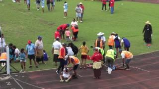 Girls 400m Finals - Tonga Inter-Collegiate Athletics