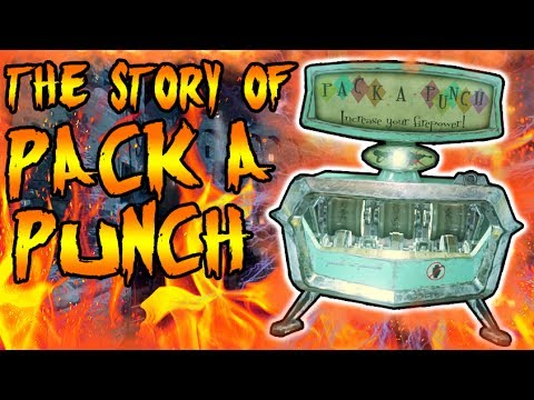 The Story of PACK A PUNCH! BLACKSMITHS MAGIC MACHINE IN THE OLD WEST! Call of Duty Zombies Storyline