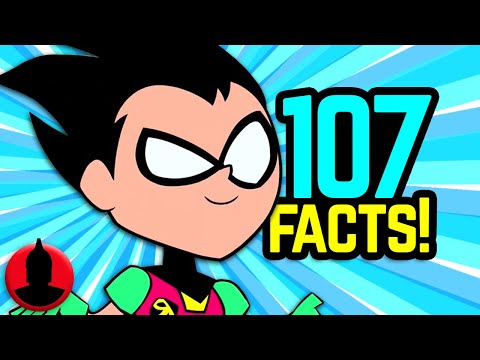 Thumbnail: 107 Teen Titans Go! Facts YOU Should Know! (Tooned Up #239) | ChannelFrederator