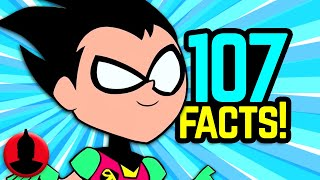 107 Teen Titans Go! Facts YOU Should Know! (S5 E10) | ChannelFrederator