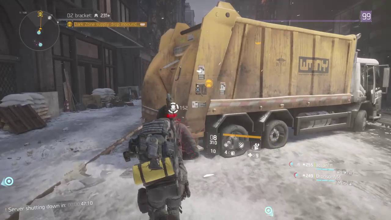 The Division - Server Shutdown Madness ft  Macho Man Randy Savage