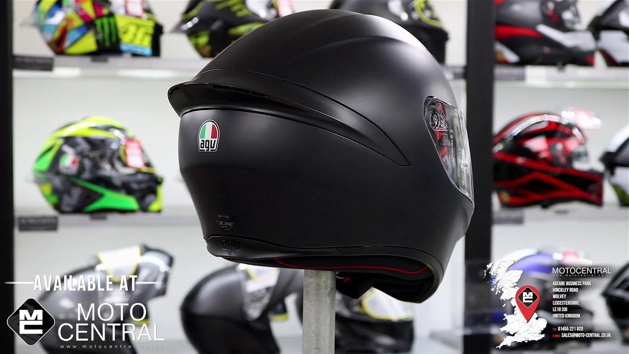 AGV Helmets K1 E2205 Solid Noir S
