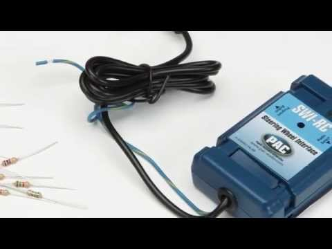 PAC SWI-RC Steering Wheel Control Adapter Cruchfield video - YouTube