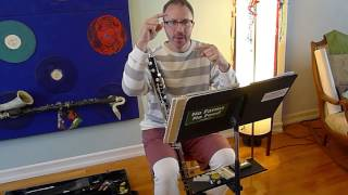 Loevendie Duo for solo bass clarinet -- So you want to be (an advanced) bass clarinet player