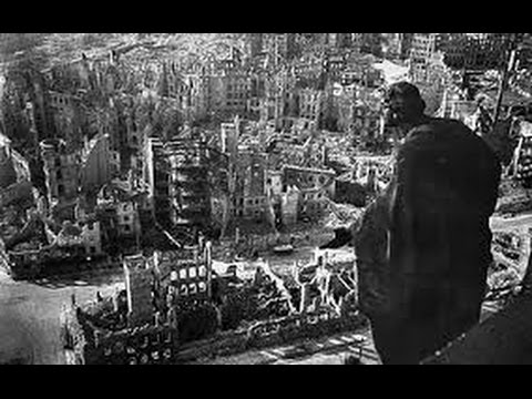 FLAT EARTH BRITISH , The Dresden War crime ,