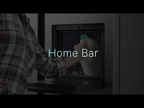 Hisense RS694 Home Bar American Side-by-Side Fridge Freezer