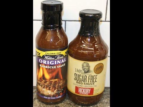 Walden Farms Barbecue Sauce vs G Hughes BBQ Sauce: Blind Taste Test