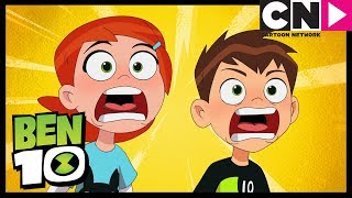 Ben 10 | Steam Smythe SHOCKS Ben and Gwen  | Cartoon Network