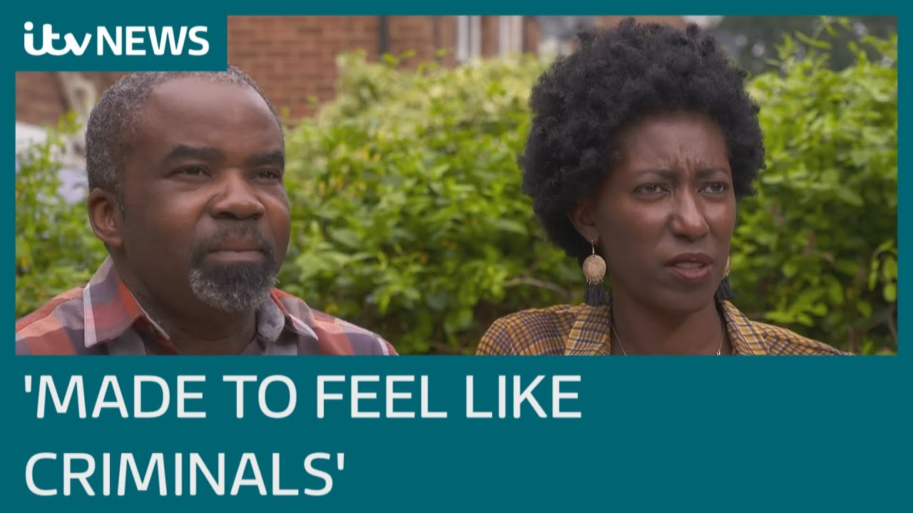 Black british African couple 'made to feel like criminals' after being stopped by police