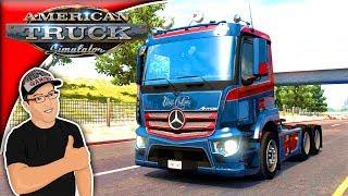 American Truck Simulator Mods D3S Mercedes Antos 12 Mod Review