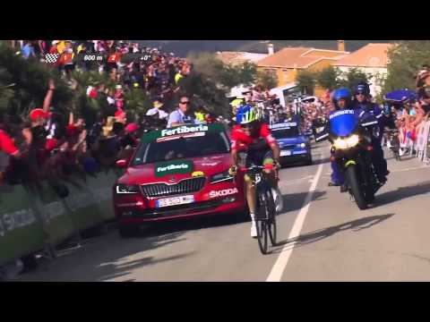 Vuelta 2015 - Stage 9 - Finish